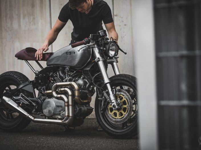 Yamaha XV750 Café Racer